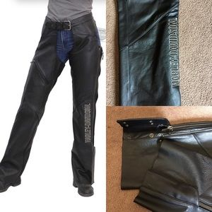 Authentic Harley Davidson Leather Chaps
